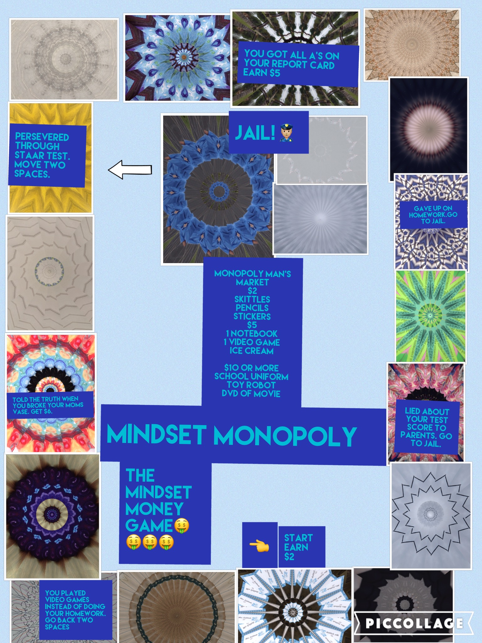 PicCollage Game Boards